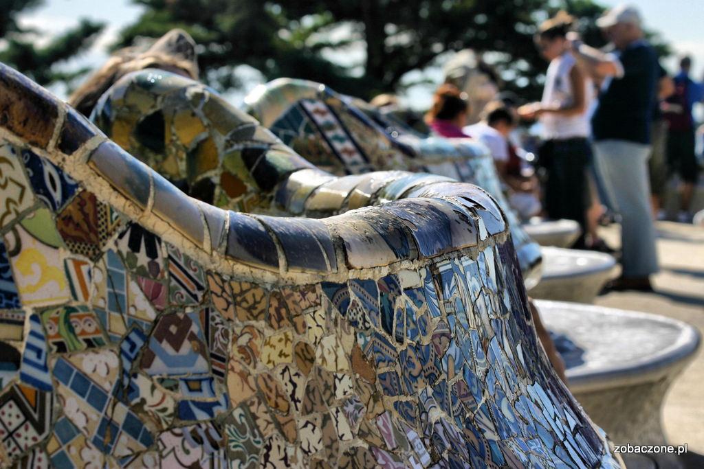 Parc Guell ławka
