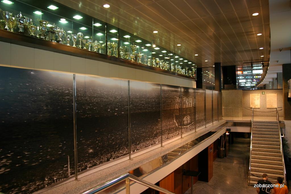 Wnętrza stadionu Camp Nou