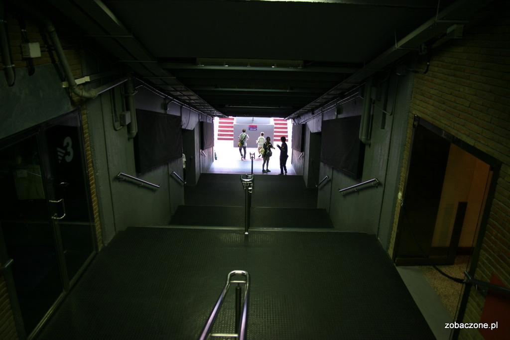 Wejście na murawę Camp Nou
