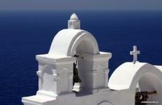 Kapliczki na Santorini