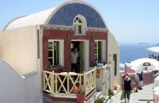 Hotel na Santorini