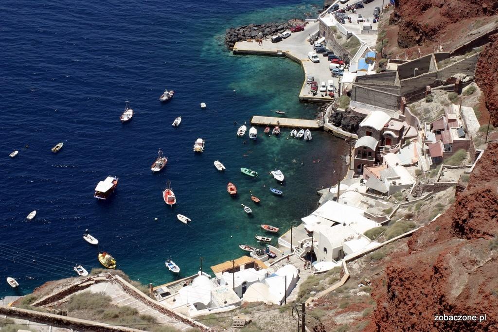 Plaża Santorini