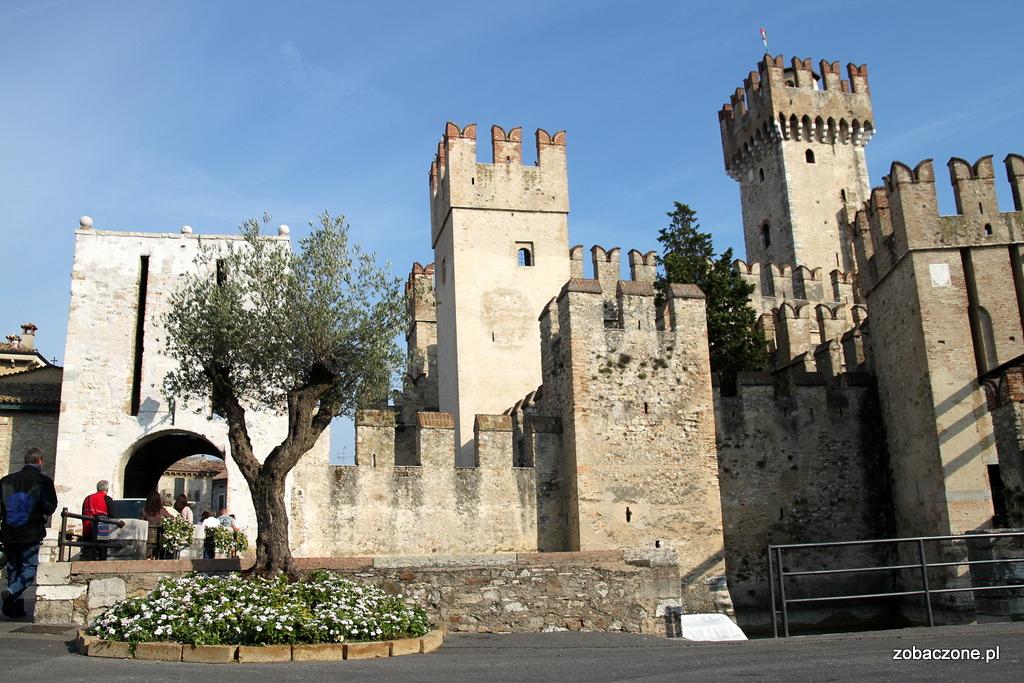 XIII wieczny zamek w Sirmione