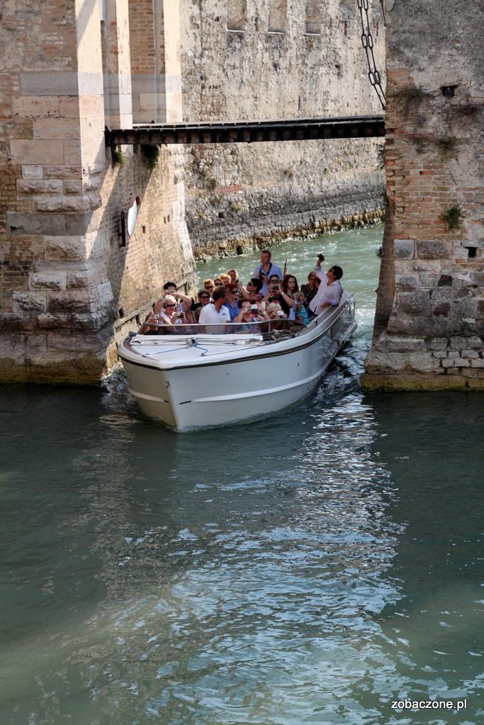 Sirmione - zwiedzanie na łódce