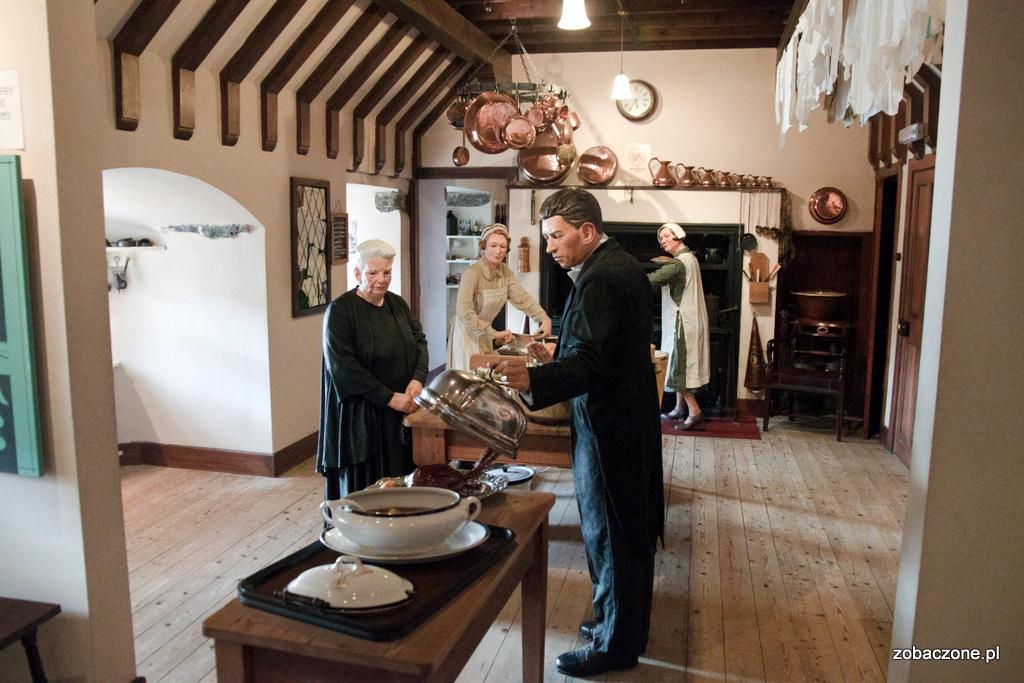Kuchnia w zamku Eilean Donan