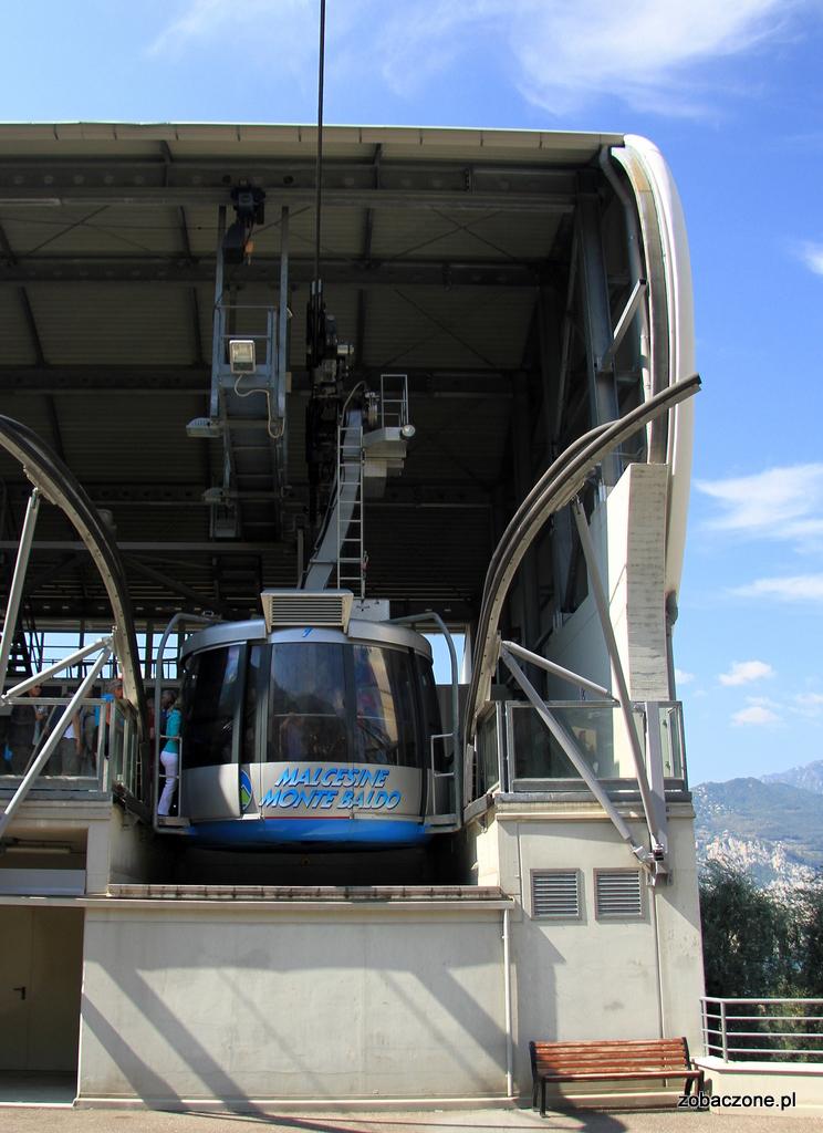 Kolejka linowa na Monte Baldo