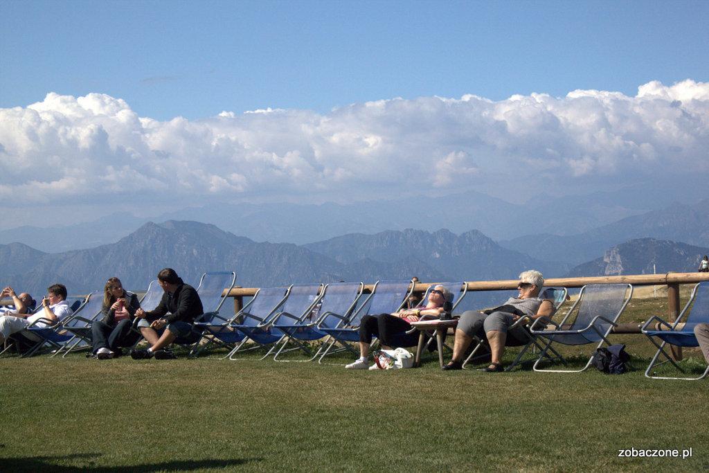 Wypoczynek na Monte Baldo