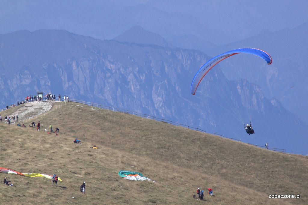 Paralotnie na Monte Baldo