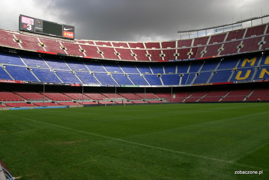 Stadion Camp Nou - trybuny