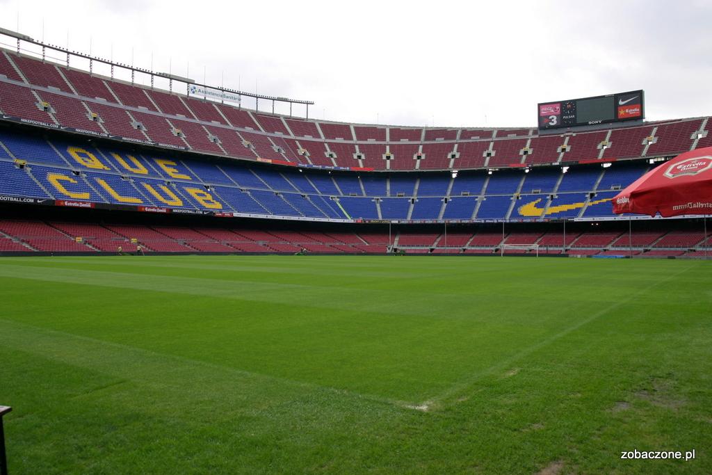 Camp Nou - zwiedzanie