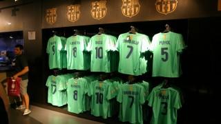 Camp Nou - skle z pamiątkami