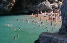 Plaża w Sa Calobra na Majorce