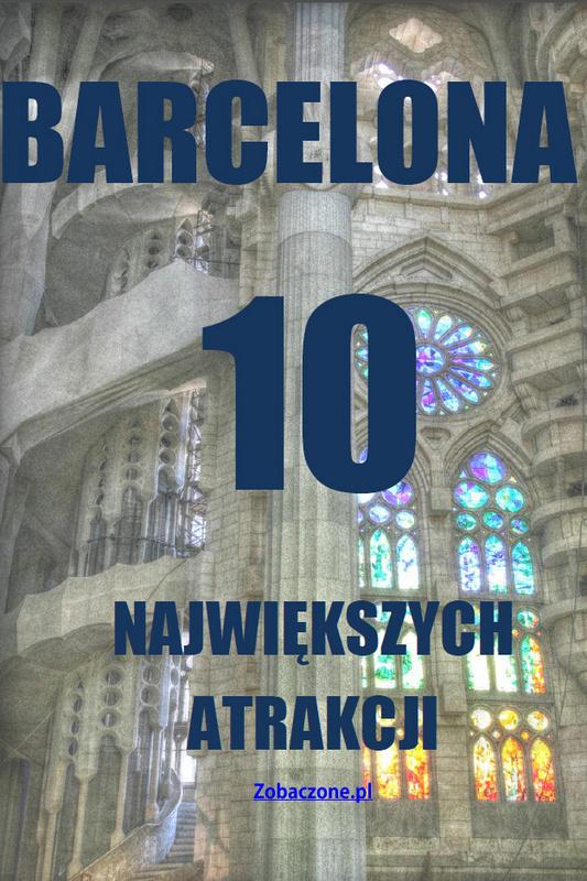 Okładka ebooka - 10 najwięszych atrakcji Barcelony