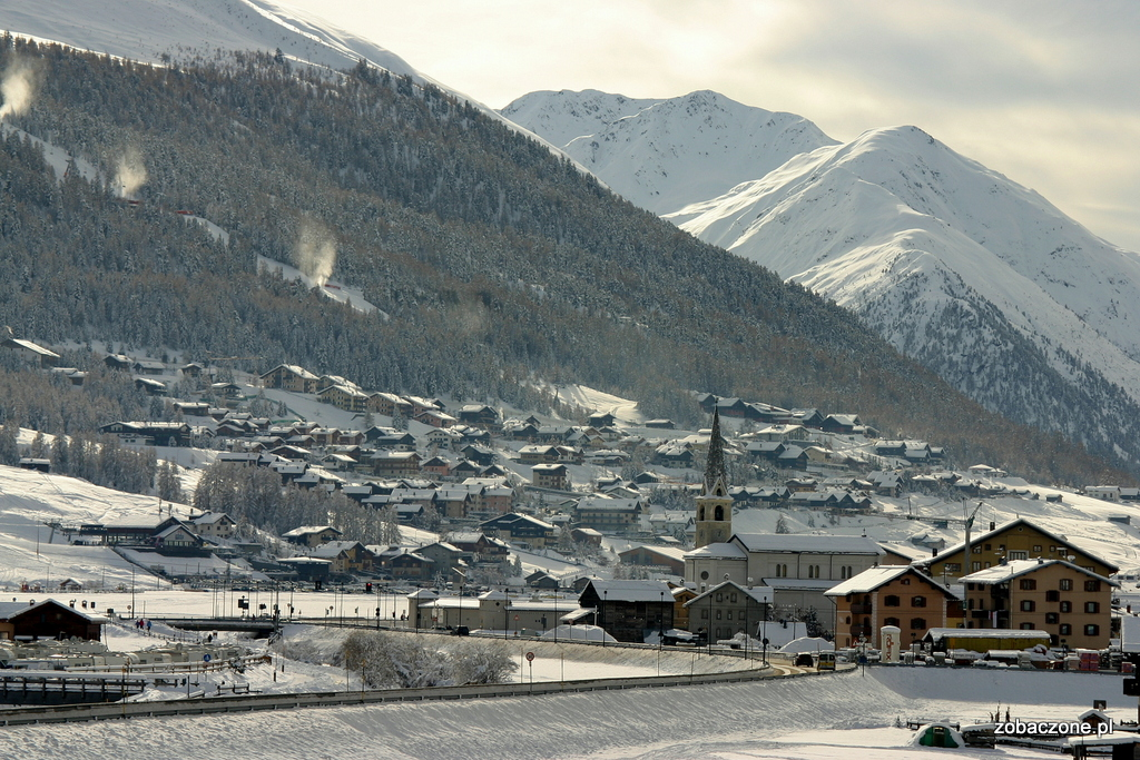 Na narty do Livigno