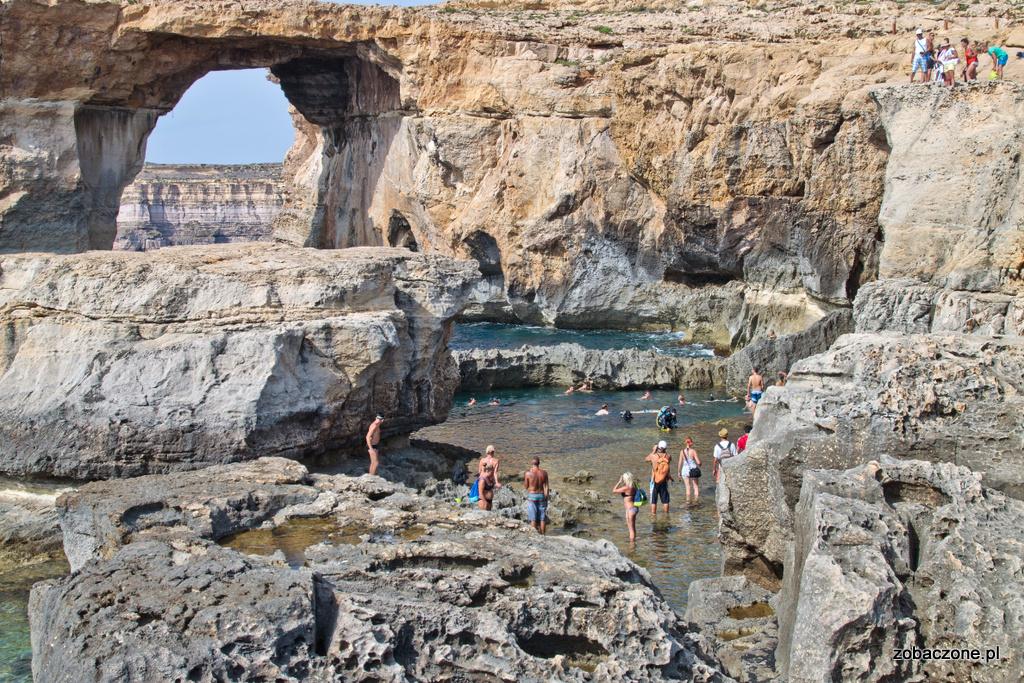 Azure Window - Lazuroowe Okno, jedna z największych atrakcji turystycznych Malty