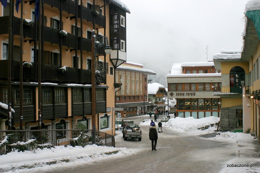 Madonna di Campiglio - centrum miasteczka
