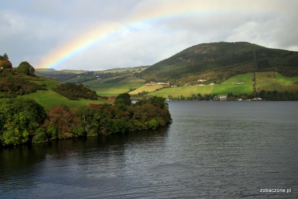 Tęcza nad Loch Ness