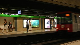 Metro Barcelona - królestwo kieszonkowców