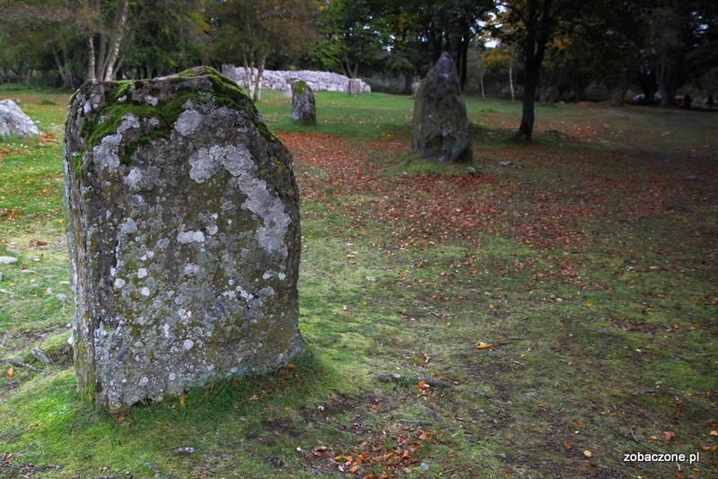 Clava Cairns - prehistoryczne groby w północnej Szkocji