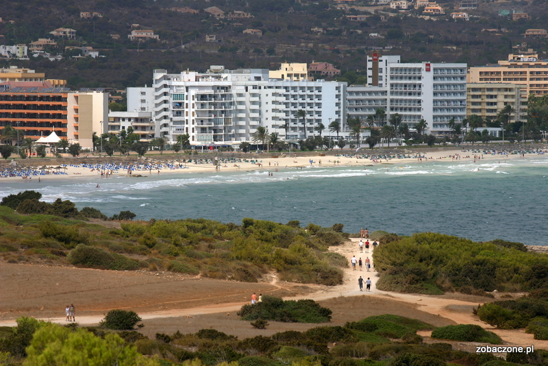 Plaża Sa Coma, Majorka