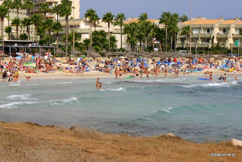 Plaża w Sa Coma, Majorka
