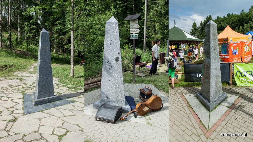 Kamienie graniczne Słowacji, Czech i Polski