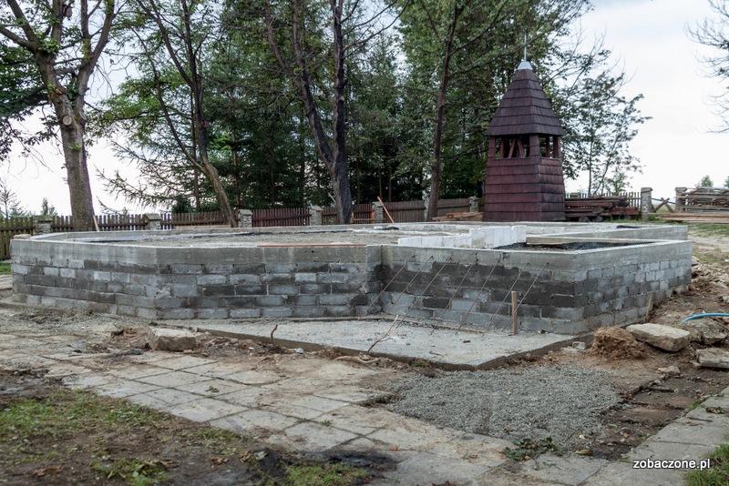 Fundamenty nowego kościoła już gotowe