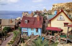 Bajkowa wioska Popeya na Malcie