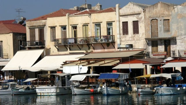 Port Wenecki w Rethymnon