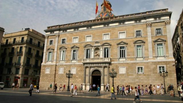 Palau de Generalitat - tutaj mieści się rząd Katalonii
