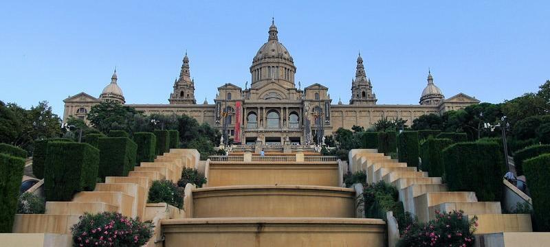 Palau Nacional - tutaj mieści się narodowe Muzeum Sztuki Katalońskiej