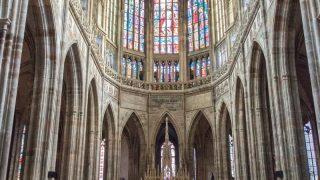 Główna nawa katedry św. Wita