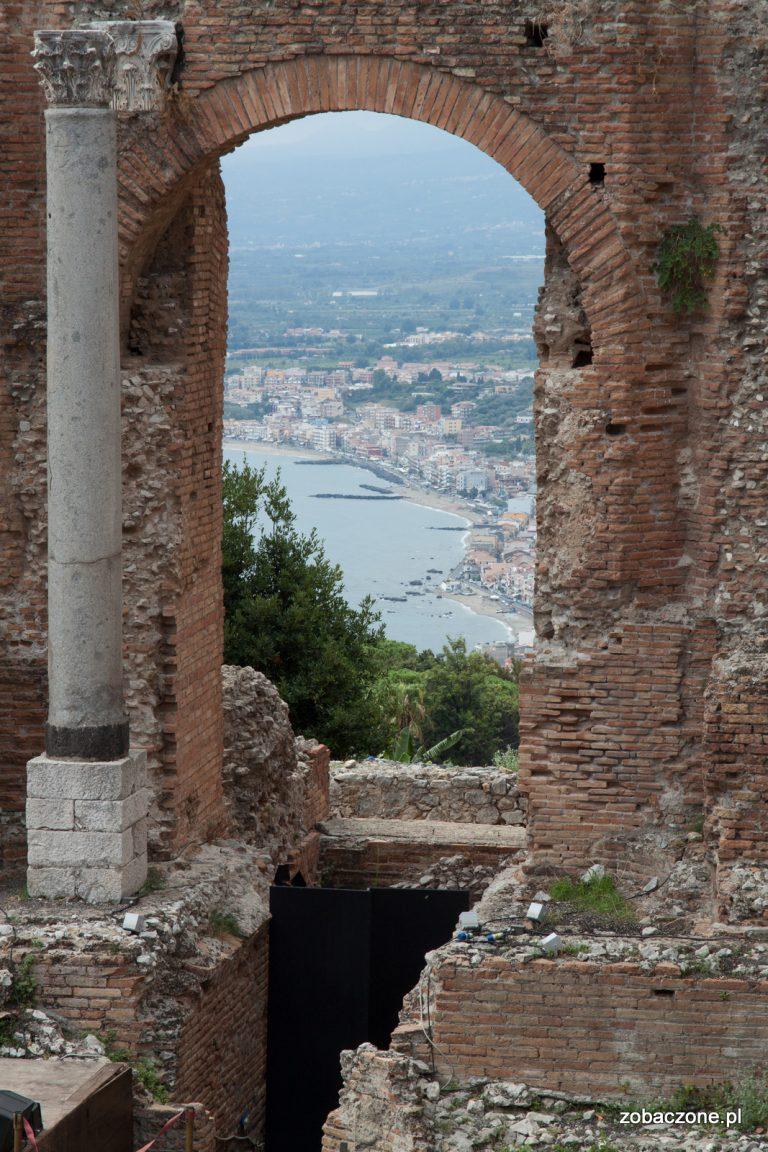 Taormina - teatr antyczny
