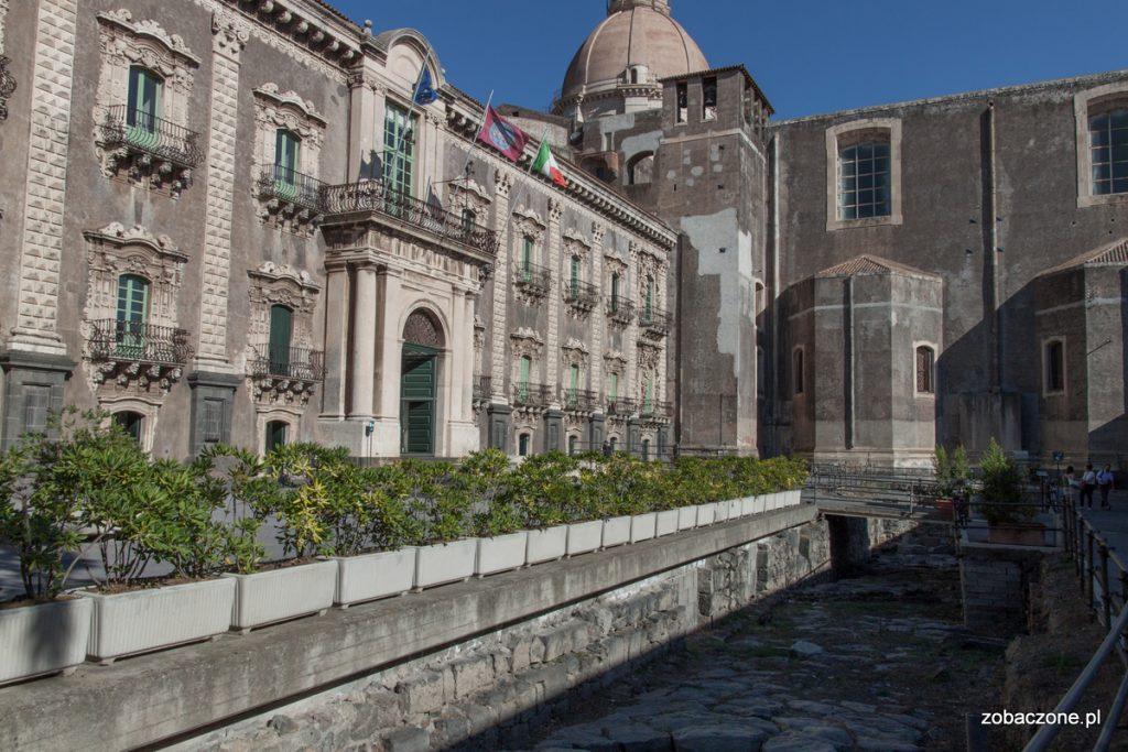 Klasztor Benedyktynów w Katanii