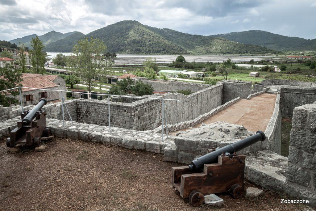 Mury obronne miasta Ston